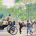Horse and Carriage Print by Anthony Butera