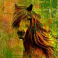 Horse paintings 001 Poster by Catf