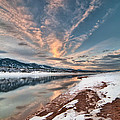Horsetooth Sunset HDR Print by Preston Broadfoot