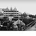 Hot Springs Arkansas Panoramic Print by Retro Images Archive