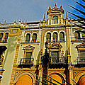 Hotel Alfonso XIII - Seville Print by Juergen Weiss