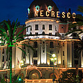 Hotel Negresco by Night Poster by Inge Johnsson