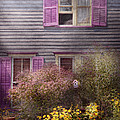 House - Victorian - A house to call my own  Print by Mike Savad