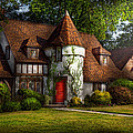 House - Westfield NJ - Fit for a king Poster by Mike Savad