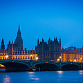 Houses of Parliament Print by Inge Johnsson