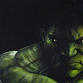 Hulk Poster by Barry Mckay