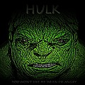 Hulk Custom  Poster by Movie Poster Prints