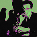 Humphrey Bogart and The Maltese Falcon 20130323 Square Print by Wingsdomain Art and Photography