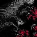 Hunger - dark and blood red fractal art Poster by Matthias Hauser