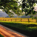 Hyatt Lane - Cades Cove Poster by Thomas Schoeller