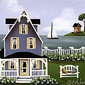 Hydrangea Cove Poster by Catherine Holman
