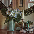 Hydrangea Still-Life Poster by Terry Rowe