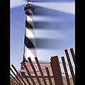 I Saw The Lighthouse Move Poster by Mike McGlothlen