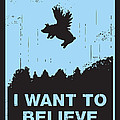 I want to believe Poster by Budi Satria Kwan