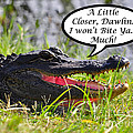 I Won't Bite Greeting Card Poster by Al Powell Photography USA