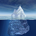 Iceberg Print by Boon Mee