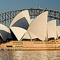 Icons One and Two - Sydney Australia. Print by Geoff Childs