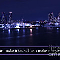 If I Can Make It Here Print by Beverly Claire Kaiya
