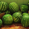 If I Had A Watermelon Print by Patricia Greer