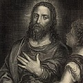 If Thou Be the Son of God 1886 Engraving Print by Antique Engravings