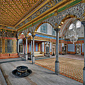 Imperial Hall of Harem in Topkapi Palace Print by Ayhan Altun
