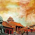 Imperial Palaces of the Ming and Qing Dynasties in Beijing and Shenyang Print by Catf