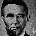 Impressionist Interpretation of Lincoln Becoming Obama Poster by Michael Braham