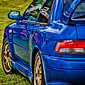 Impreza 22B Print by Phil 'motography' Clark