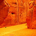 IN ORANGE CHASMS Print by Jeff  Swan