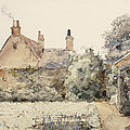 In the Garden Print by Childe Hassam
