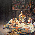 In the Harem Poster by Jose Gallegos Arnosa
