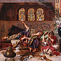 In the Harem Print by Rudolphe Ernst