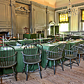 Independence Hall Print by Olivier Le Queinec