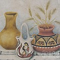 Indian Pots Print by Summer Celeste