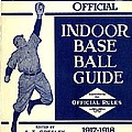 Indoor Base Ball Guide 1907 II Poster by American Sports Publishing