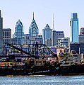 Industrial Philadelphia Print by Olivier Le Queinec