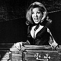 Ingrid Pitt in The House That Dripped Blood  Print by Silver Screen