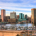 Inner Harbor Print by JC Findley