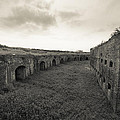 Inside Fort Macomb Print by David Morefield