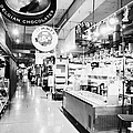 inside lonsdale quay market shopping mall north Vancouver BC Canada Poster by Joe Fox