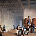 Inside The Distillery, From Ten Views Poster by William Clark