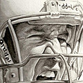 Intensity Peyton Manning Print by Tamir Barkan
