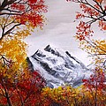 Into The Mountains Print by Erik Coryell