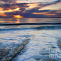 Into the Sea Print by Mike  Dawson