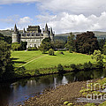 Inveraray Castle - D002464 Print by Daniel Dempster