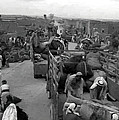 Iraq Al Manshiyya Evacuation 1948 Print by Munir Alawi