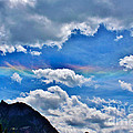 Iridescent Cloud Formations Over Ouray Print by Janice Rae Pariza