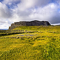 Iron Age Ruins of Dun Aengus on The Irish Coast Poster by Mark E Tisdale