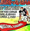 Iron Bowl '89 Print by Benjamin Yeager