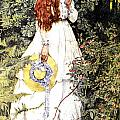Is She Not Pure Gold My Mistress Poster by Eleanor Fortescue Brickdale
